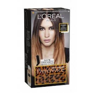 L'oreal Preference Wild Ombres Dip Dye Hair Kit