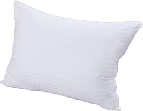 Premium Super Plush Fiber Filled Pillows - 100% Cotton, T-240 Mercerized Shell, Dust Mite Resistant, 3D Hollow Siliconized Material Retain Shape Utopia Bedding (King 1 Pack)