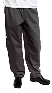 Chef Works CPCH-000 Charcoal J54 Cargo Pants, Size 4XL