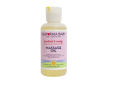 California Baby Overtired & Cranky Mommy & Daddy Oil, 4.5 oz - 1