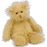 TY Punkies - FRIZZY the Bear - 1