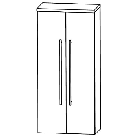 Puris Swing (MNA846A7 Bathroom Cabinet 60 CM