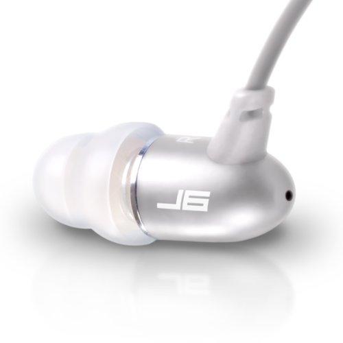 Jlab Jbuds J6 High Fiedelity Metal Ergonomic Earbuds Style Headphones (Titanium Silver)