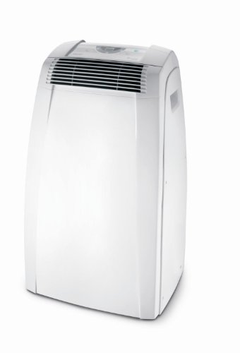 DeLonghi PAC-C120 12,000 BTU Home Electric Portable Air Conditioner AC w/Remote - Manufacturer Refurbished