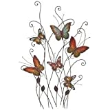 """Deco 79 Metal Wall Decor, 32 by 20"""""""