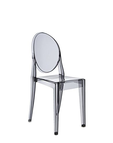 Victoria Ghost Chair by Kartell - Transparent Crystal