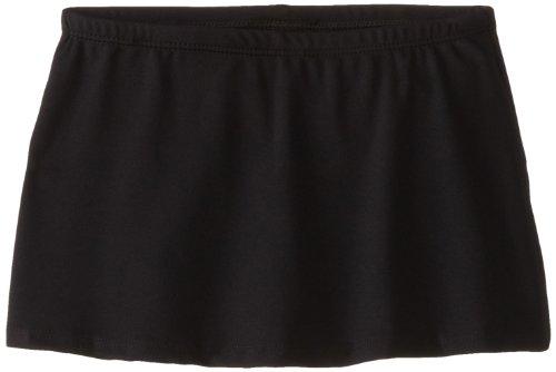 Capezio Big Girls' Skort, Black, Large/12-14 front-837291