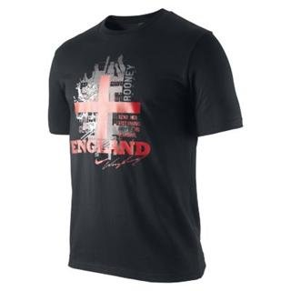 Nike Men's Hero England Rooney Soccer Shirt -S in Red
