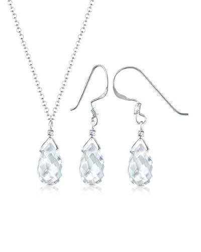Elli Set catenina e orecchini  argento 925