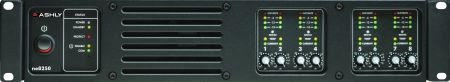 Ashly ne8250pe Amplifier With DSP Input Modules Eight Channel 150 Watt Channel at 8 Ohms