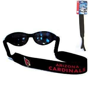 NFL Arizona Cardinals Neoprene Sunglass Strap, Black
