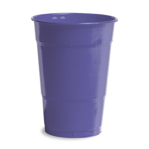 Purple Cups 12oz