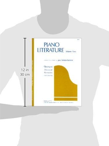 Piano Literature: v. 2