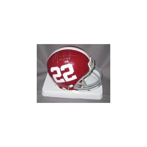 Mark Ingram signed Alabama Crimson Tide Mini Helmet w/2009 Heisman