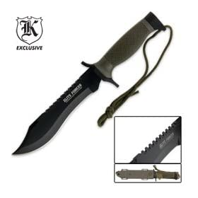 Elite Forces Survival Bowie Knife
