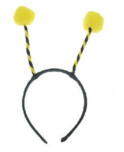 Skue 6 pcs Christmas Cosplay Antenna Headband Headdress Ants Bee Antenna can be Bent ()