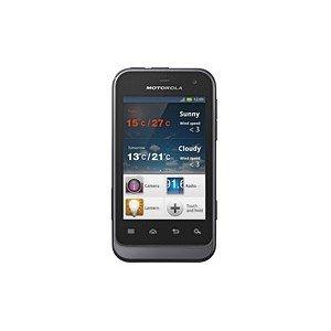 Motorola XT320 Defy Mini (8,1 cm (3,2 Zoll) Display, 3,15 Megapixel Kamera, 512MB RAM, 600 MHz, WiFi) schwarz