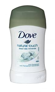 6 x Dove Anti-Perspirant Deodorant Stick 40ml Natural Touch