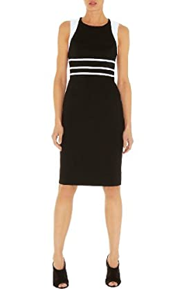 Tailored Cotton Pencil Dress