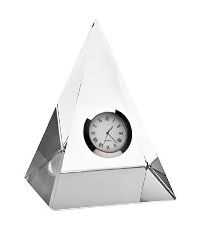 Godinger Pyramid Crystal Clock