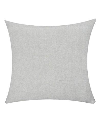 Jyotex Cotton 1 Piece Cushion COVER - 16'' x 16'', Grey