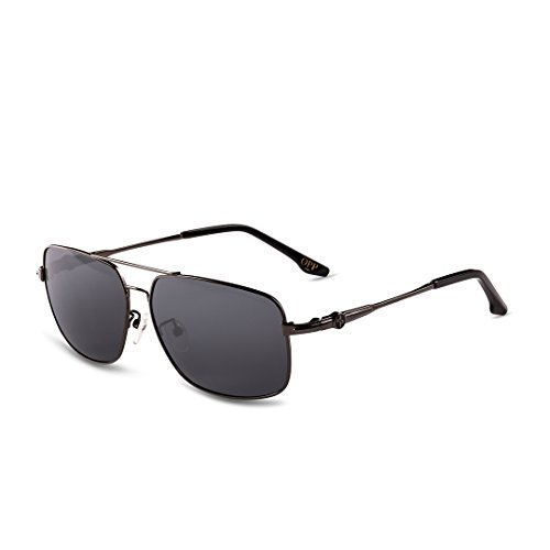 Opp Classic Fashion Occhiali da sole da uomo in metallo Cornice TAC lenti polarizzate 2016collezione nero Black