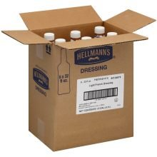 Hellmanns Light French Dressing, 32 Ounce -- 6 Per Case.