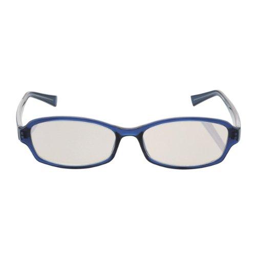 ELECOM ブルーライト対策メガネ 老眼鏡 +1.0 男性用 OG-DBLC10MR