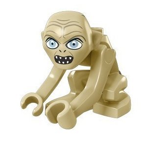 Amazon.com: Lego Lord of the Rings Gollum Minifigure: Toys & Games