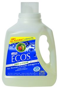 Earth Friendly Products Ecos Laundry Liquid, Free & Clear 210 fl. oz.