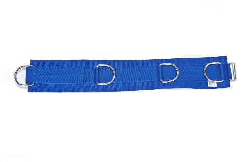 4″ WIDE PADDED BELT – 4 HEAVY DUTY QUALITY D-RINGS SEWN ON -VERSATILE!