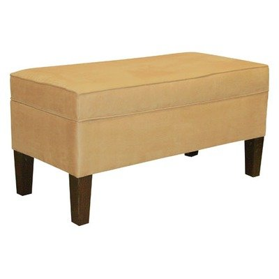 Storage Bench in Saddle