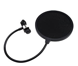 Wanway Studio Microphone Mic Wind Screen Pop Filter Mask Shied