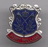 Fort William Scotland Town Flag / Crest Pin Badge