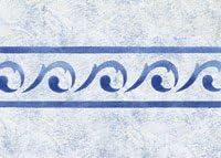 Border Scroll Stencil - Stencil with Paints - Plastic