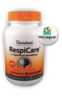 Respi Care 120 Tabs ( Nature's Balanced Breathing Comfort Formula ) - Himalaya USA