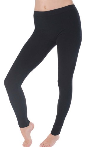 socks-uwearr-ladies-stretch-cotton-elastane-leggings-plain-black-design-10-12