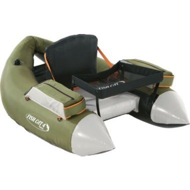 Outcast Fish Cat 4 Deluxe Float Tube - Olive with Free $25 Gift Card (Fish And Cat compare prices)