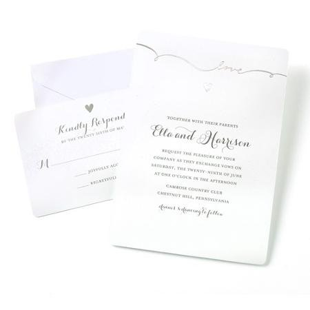 Gartner Studios 50ct. Script Love Invitation Kit