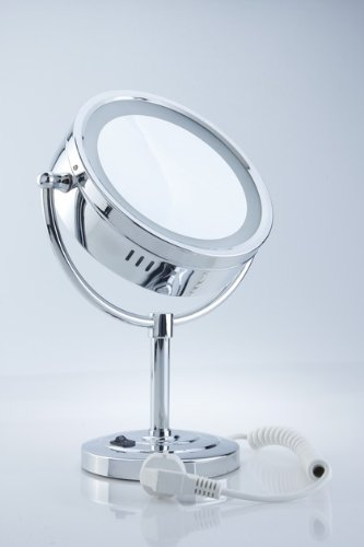 DXP-Küche & Haushalt ZNL Kosmetikspiegel Schminkspiegel LED 7-fach ROHS YTL9700