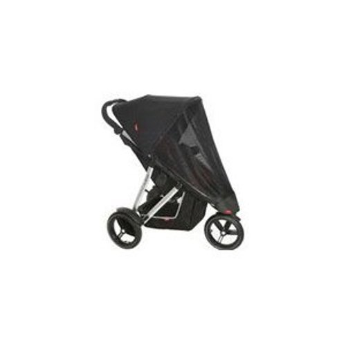 phil&teds UV Sunny Days Mesh Cover for Single Vibe Stroller (Discontinued by Manufacturer)
