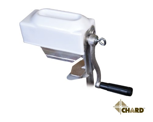 CHARD MT-108 Meat Tenderizer with Cast Iron and Geared Teeth, 1/2-Inch and 4-Inch