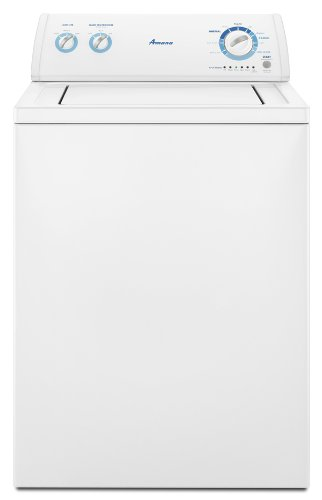 Amana 3.4-Cubic Foot Traditional Top-Load Washer, NTW4501XQ, White