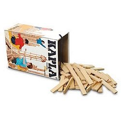 KAPLA Planks - 200 Piece Wooden Building Set in White Barrel [Toy]