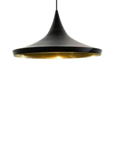 Iconscorner Lámpara De Suspensión Sienna Dixon Negro/Dorado