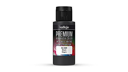Vallejo Color Black Premium RC Colors - 1