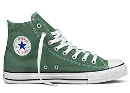 Converse Chuck Taylor All Star High Top Sneakers 136504F Forest Green 8 M US