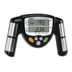 Image of Omron HBF-306C Fat Loss Monitor, Black & Mini Tool Box (ml) (B008JEP70W)