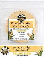 La Tortilla Factory Hand Made Style Yellow Corn Tortilla - Buy TWELVE Packs and SAVE, 8 count per pack -- 12 packs per case. (Pack of 12)