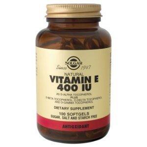 Solgar Vitamin E 400 Iu Mixed Softgels (400 Iu D-Alpha Tocopherol & Mixed Tocopherols) 100
